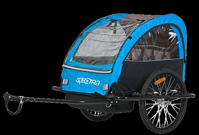 Spectra Eco Børnetrailer til 2 børn
